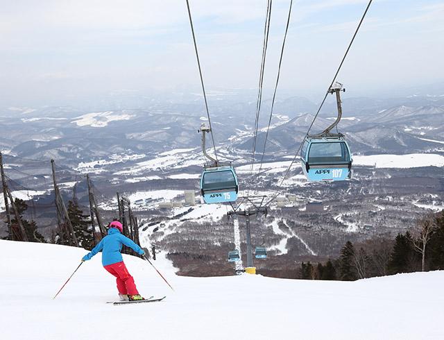 当ホテル初めてのご来館で安比高原スキーリフト券プレゼント!