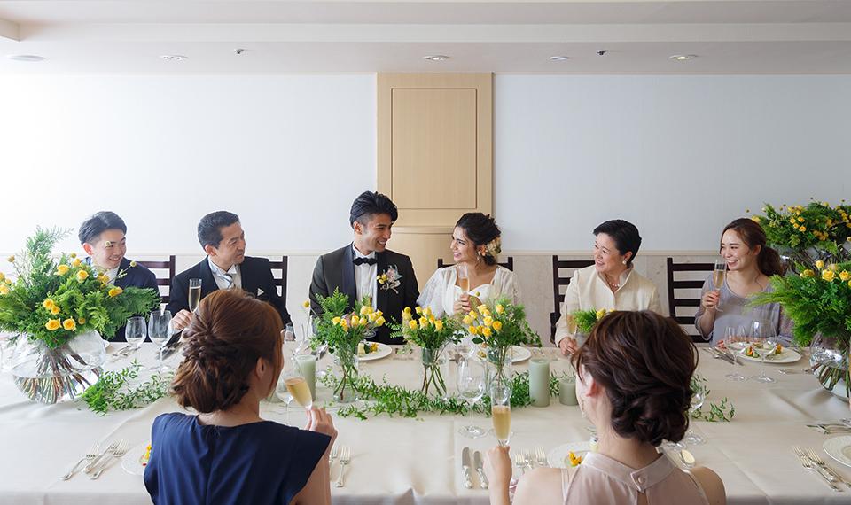 家族婚・少人数会食